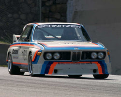 Thor Johnson with 1970 BMW 2800 CS in Group 2 at the 2015 Sommet des LÌÄå_ÌÄåÌÄå_ÌÄå__gendes at Mt Tremblant