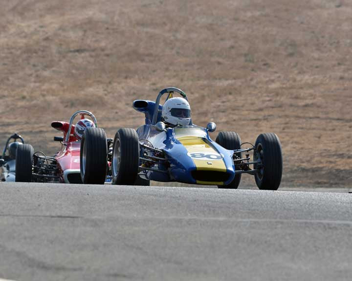 Robert Posner with 1970 Titan Mkwith6B in  Group 6 at the 2015 Season Finale at Thunderhill Raceway