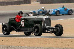 Ivan Zaremba - 1935 Railton Light Sport Tourer in Group 2A - 1927-1951 Racing Cars at the 2017 Rolex Monterey Motorsport Reunion run at Mazda Raceway Laguna Seca