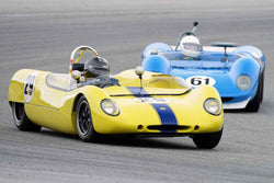 Brian Andrews - 1964 Lotus 23 in Group 3 at the 2017 HMSA Spring Club Event - Mazda Raceway Laguna Seca
