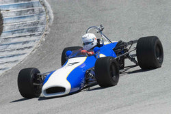 Robin Hunter - 1969 Brabham BT29 in Group A at the 2017 SCRAMP Spring Classic run at Mazda Raceway Laguna Seca