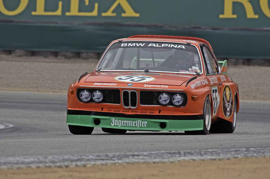 Jeffrey Gerken - 1973 BMW CSL 3.0 in Group 4A  at the 2016 Rolex Monterey Motorsport Reunion - Mazda Raceway Laguna Seca