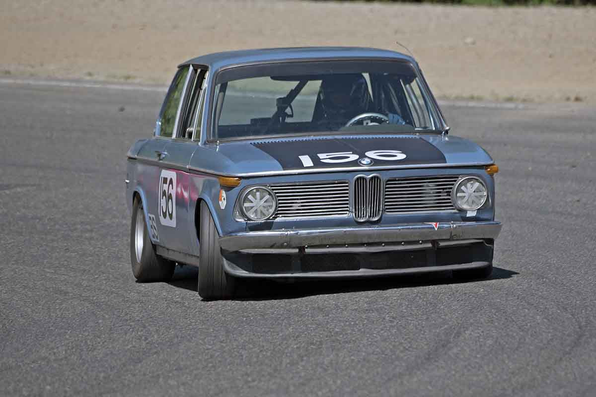 Michael Deilke - 1969 BMW 2002 in Group 2B at the 2017 SOVREN Pacific Northwest Historicsrun at Pacific Raceways