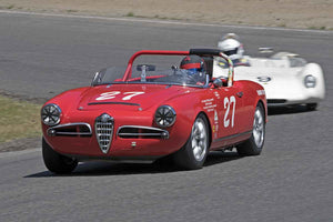 Jerry Pillar - 1963 Alfa Romeo Spider in Group 1B/2A at the 2017 SOVREN Pacific Northwest Historicsrun at Pacific Raceways