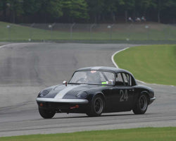 Clark Lance with 1964 Lotus Elan in Group 2  at the 2015 HMSA Barber Historics