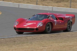 Tony Hart - 1966 Lola T70 Coupe Can-Am  in 1966-74 Historic CanAM & 1971-79 FIA Cars - Group 11 at the 2017 SVRA Sonoma Historic Motorsports Festivalrun at Sonoma Raceway