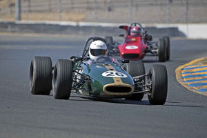 Timothy Osborne - 1967 Brabham BT21 in Group 6 -  at the 2016 Charity Challenge - Sonoma Raceway