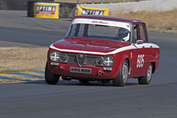 Gary Highland - 1962 Alfa Romeo Giulia TI in 1955-65 Production & GT Cars - Group 3 at the 2017 SVRA Sonoma Historic Motorsports Festivalrun at Sonoma Raceway