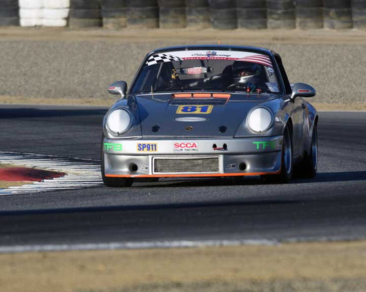 Behram Soonawala with 1975 Porsche 911 in Group 1 - PCA Sholar-Friedman Cup at the 2015 Rennsport Reunion