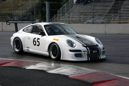 Tim Brown with 2008 Porsche GT3 Cup in Group 6 & 10 -  at the 2016 Portland Vintage Racing Festival - Portland International Raceway