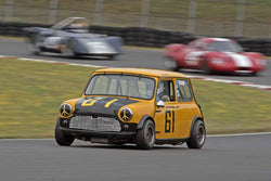 Donald Racine - 1961 Mini Cooper S in Group 1 at the 2016 SOVREN Columbia River Classic - Portland International Raceway