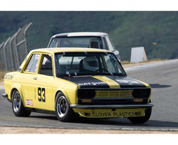 Dave Stone driving his Datsun 510 in Group 3 at the 2015 HMSA Spring Club Event at Mazda Raceway Laguna Seca