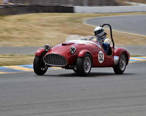 William Lyon with 1952 MG TD Schiaretti Special in Group 2 - 1946-1955 Sports Racing and Production Cars at the 2015 Sonoma Historic Motorsports Festival at Sonoma Raceway