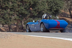 Leland Osborn - 1955 Crosley Roadster Special in Group 5A - 1947-1955 Sports Racing and GT Cars at the 2017 Rolex Monterey Motorsport Reunion run at Mazda Raceway Laguna Seca