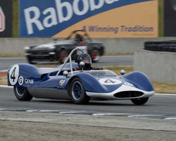 Bob Roth with 1963 Genie  in Group 1  at the 2016 CSRG David Love Memorial - Sears Point Raceway