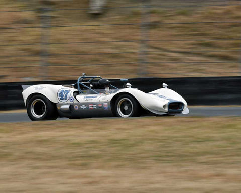 Richard Duncan with 1966 Bill Leonheart Special Can with Am in Group 7 - 1959-1966 Sports Racing and 1964-1970 FIA Cars at the 2015 Sonoma Historic Motorsports Festival at Sonoma Raceway