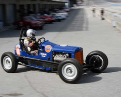 Max Jamiesson with 1935 Ford Sprint Car in Group 1 at the 2015 HMSA LSR Invitational II at Mazda Raceway Laguna Seca