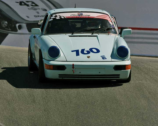 Siggi Meissner with 1979 Porsche 911 SC in Group 1 - PCA Sholar-Friedman Cup at the 2015 Rennsport Reunion V, Mazda Raceway Laguna Seca