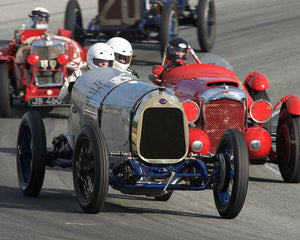 George Wingard with 1922 Delage La Torpille in Group 1A - Pre 1940 Sports Racing and Touring Cars at the 2015-Rolex Monterey Motorsport Reunion, Mazda Raceway Laguna Seca