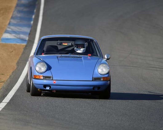 David Holden with 1967 Porsche 911 in  Group 3 at the 2015 Season Finale at Thunderhill Raceway