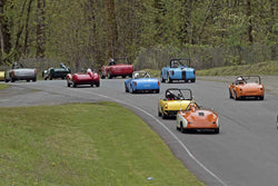 Group 1 at the 2017 SOVREN Spring Sprints run at Pacific Raceways