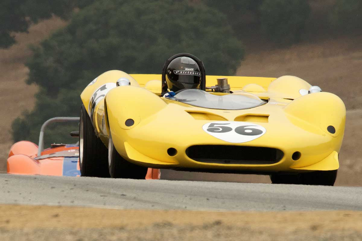 Greg Mitchell - 1967 Shelby King Cobra in Group 5A  at the 2016 Rolex Monterey Motorsport Reunion - Mazda Raceway Laguna Seca