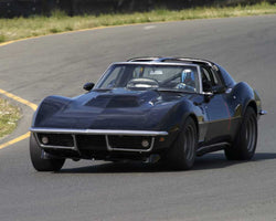 Edward Hugo driving his 1969 Chevrolet Corvette in Group 8 at the 2015 CSRG David Love Memorial Vintage Car Road Races at Sonoma Raceway