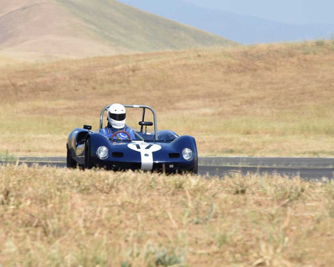 Dean Meiling driving his 1963 Elva Mark 7S in Group 4 at the 2015 CSRG Thunderhill Rolling Thunder at Thunderhill Raceway