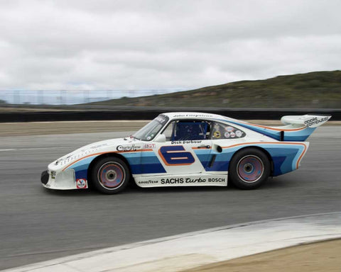 Jeff Lewis with 1980 Porsche 935 K3 in Group 5 at the 2015 HMSA LSR Invitational II at Mazda Raceway Laguna Seca