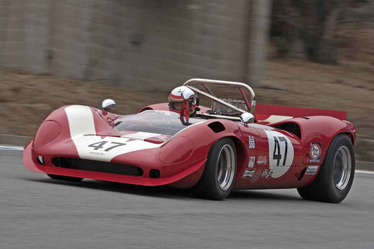 Marc Devis - 1967 Lola T70 Mk3B in Group 5A  at the 2016 Rolex Monterey Motorsport Reunion - Mazda Raceway Laguna Seca