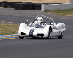 Thor Thorson with 1962 Elva MK 6 in Group 4  at the 2016 CSRG David Love Memorial - Sears Point Raceway