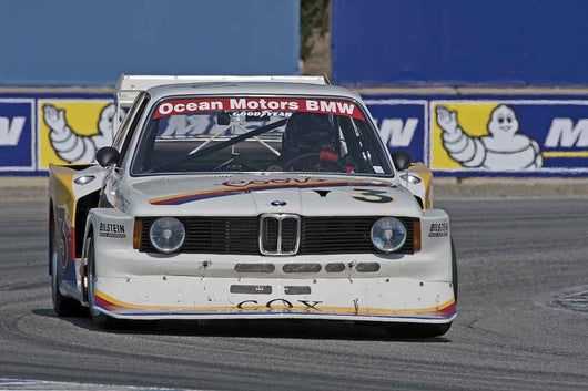 Jim Busby - 1978 BMW IMSA 320 Turbo in Group 4A  at the 2016 Rolex Monterey Motorsport Reunion - Mazda Raceway Laguna Seca