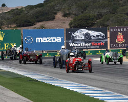 Group 1A with Pre 1940 Sports Racing and Touring Cars in Group 1A - Pre 1940 Sports Racing and Touring Cars at the 2015-Rolex Monterey Motorsport Reunion, Mazda Raceway Laguna Seca