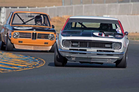 Norman Daniels - 1968 Chevrolet Camaro in Group 8 - Trans-AM, SCCA Sedan &NIMSA GTU/GTO at the 2017 CSRG Charity Challenge run at Sonoma Raceway