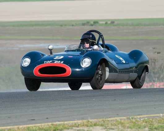 Charles McCabe with 1955 Cooper T39 Bobtail in Group 9 - at the 2016 CSRG David Love Memorial - Sears Point Raceway