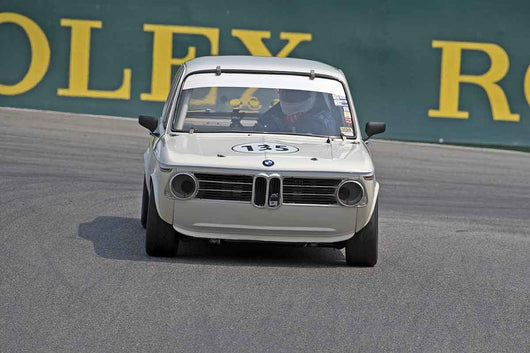 Craig Hauenstein - 1968 BMW 2002 in Group 4B  at the 2016 Rolex Monterey Motorsport Reunion - Mazda Raceway Laguna Seca