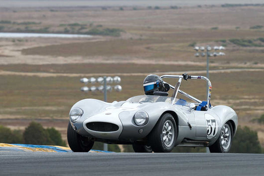 Jeffrey Newman - 1965 Ginetta G4 in Group 3 -  at the 2016 Charity Challenge - Sonoma Raceway