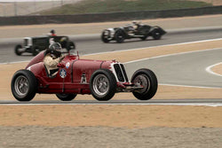 U. Daniel Ghose - 1933 Maserati 4CM in Group 2A - 1927-1951 Racing Cars at the 2017 Rolex Monterey Motorsport Reunion run at Mazda Raceway Laguna Seca