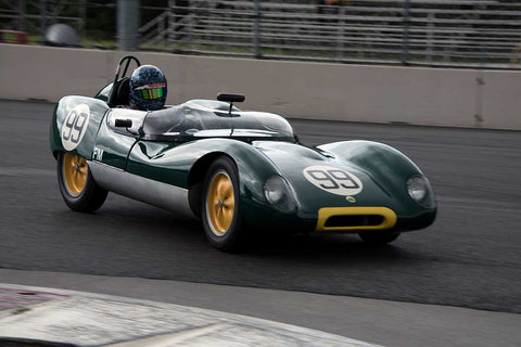 Thor Johnson with 1959 Lotus 17 in Group 4 -  at the 2016 Portland Vintage Racing Festival - Portland International Raceway
