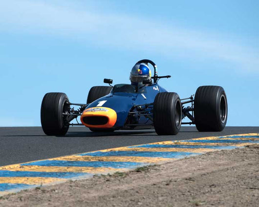 Travis Engen with 1970 Chevron B 17B in Group 6 at the 2016 CSRG David Love Memorial - Sears Point Raceway