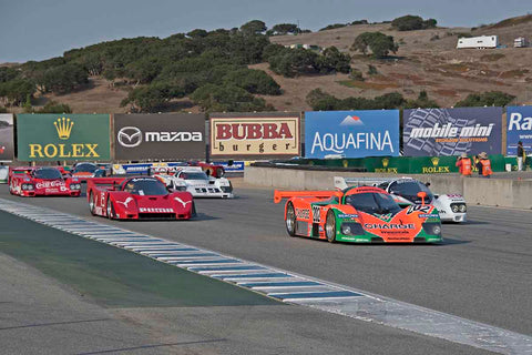 Group 8A - 1981-1991 IMSA GTP Cars at the 2017 Rolex Monterey Motorsport Reunion run at Mazda Raceway Laguna Seca