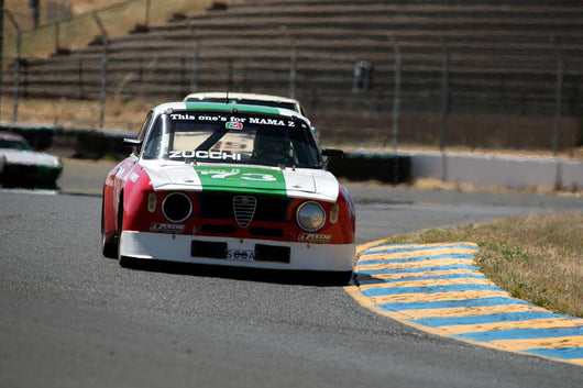 Frank Zucchi with Alfa Romeo GTV in Group 12 at the 2016 SVRA Sonoma Historics - Sears Point Raceway