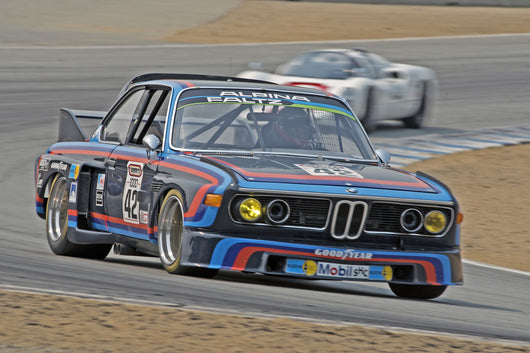 Mark Colbert - 1972 BMW CSL in Group 3B  at the 2016 Rolex Monterey Motorsport Reunion - Mazda Raceway Laguna Seca
