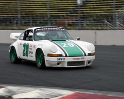 Earl Green with 1973 Porsche 911 in Group 5 - WSC and World Manufactuer's Championship 1960-1972 at the 2015 Portland Vintage Racing Festival at Portland International Raceway