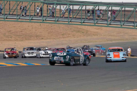 Group 2 - Small Displacement Production Sports Cars through 1967 at the 2017 CSRG Charity Challenge run at Sonoma Raceway