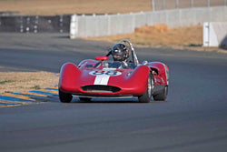 David Martin - 1961 Genie Mk IV in Group 4&5 - Small Displacement Sports Racing Cars through 1967 & Formula Junior & Formula Vee open wheel cars at the 2017 CSRG Charity Challenge run at Sonoma Raceway