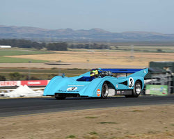Rick Knoop with 1972 McLaren M8F in Group 11 - 1966-1974 Historic Can-Am and 1971-1979 FIA Cars at the 2015 Sonoma Historic Motorsports Festival at Sonoma Raceway