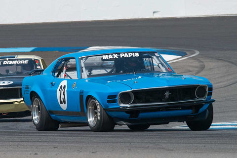 Tom Cantrell - 1969 Ford Mustang Boss 302 - Group 6 at the 2017 Brickyard Vintage Racing Invitationalrun at Indianapolis Motor Speedway