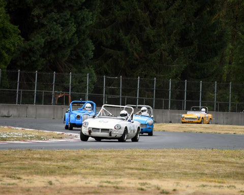 Group 1 in Group 1 - Small Bore Production Cars at the 2015 Portland Vintage Racing Festival at Portland International Raceway