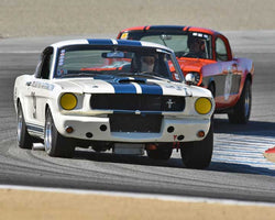Bruce Kawaguchi with 1966 Shelby GT350 in Group 1A - Pre 1940 Sports Racing and Touring Cars at the 2015-Rolex Monterey Motorsport Reunion, Mazda Raceway Laguna Seca
